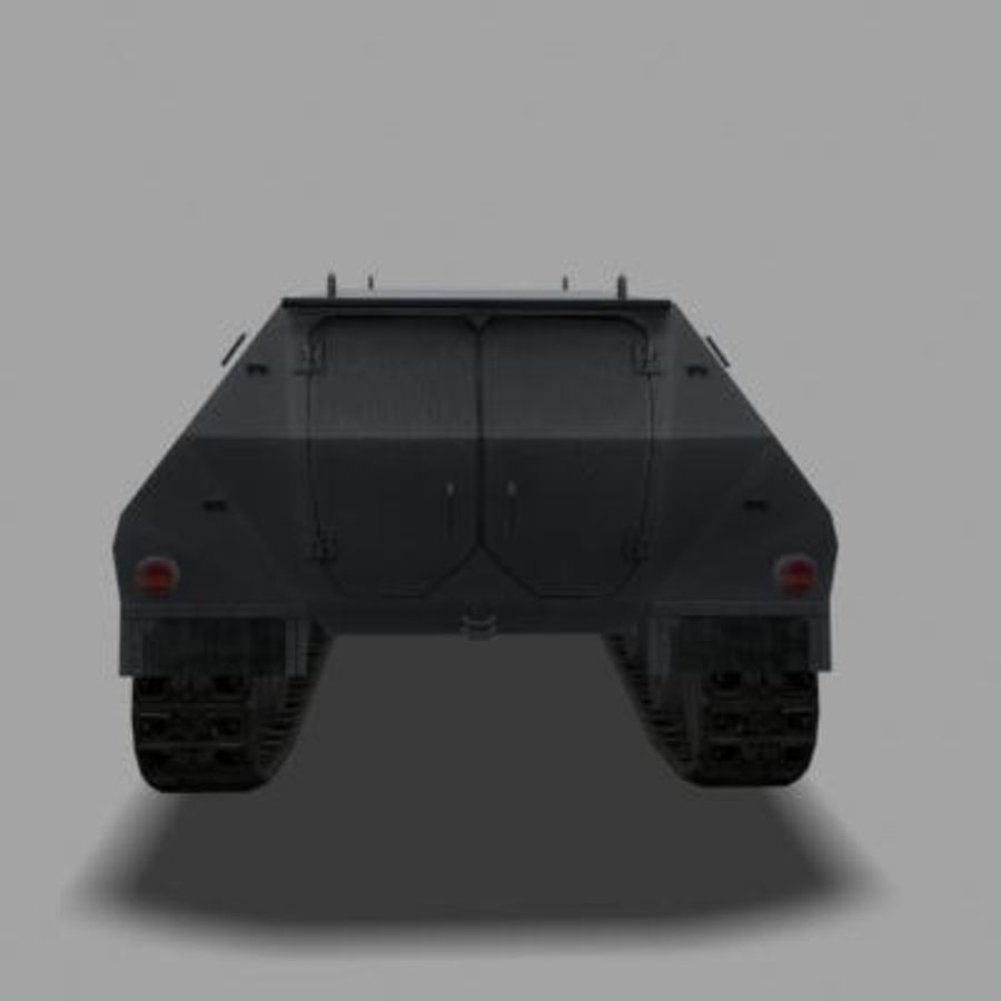 sdkfz250.zip royalty-free 3d model - Preview no. 3