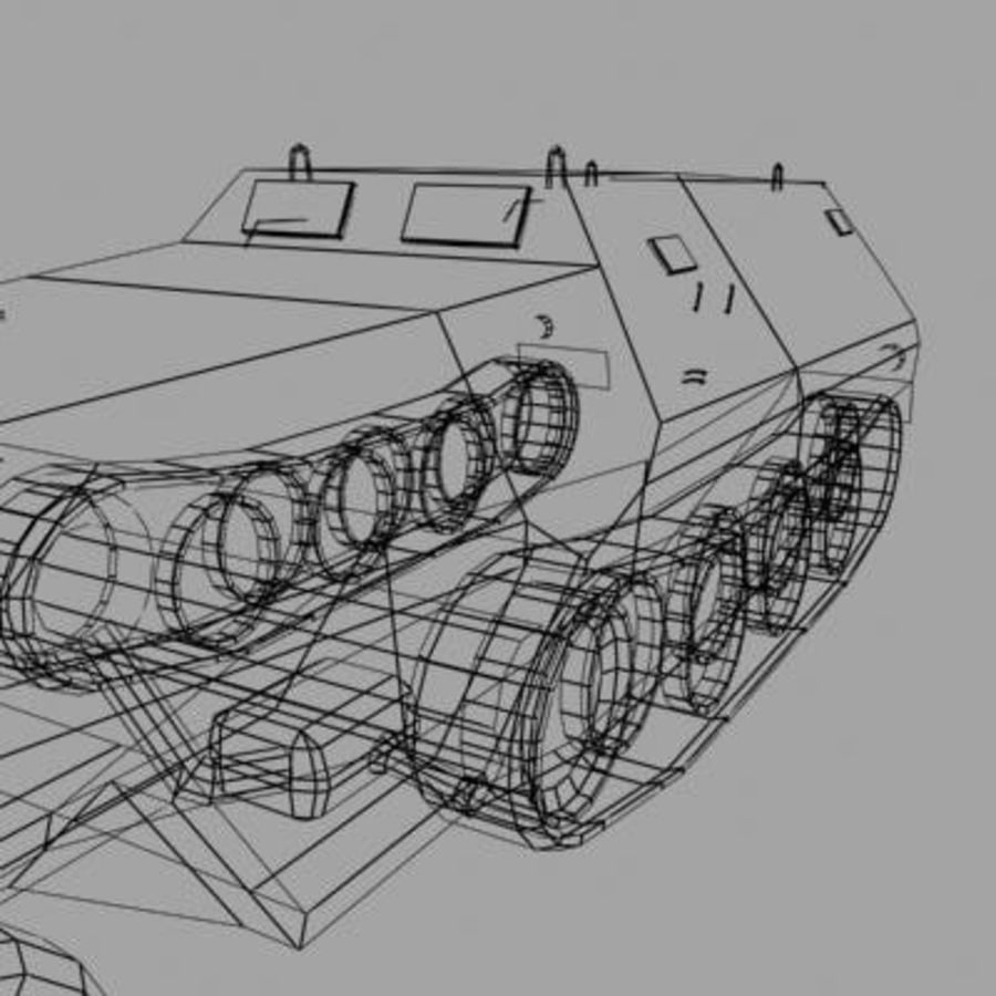 sdkfz250.zip royalty-free 3d model - Preview no. 13