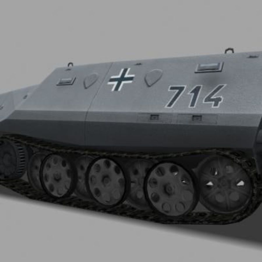 sdkfz250.zip royalty-free 3d model - Preview no. 9