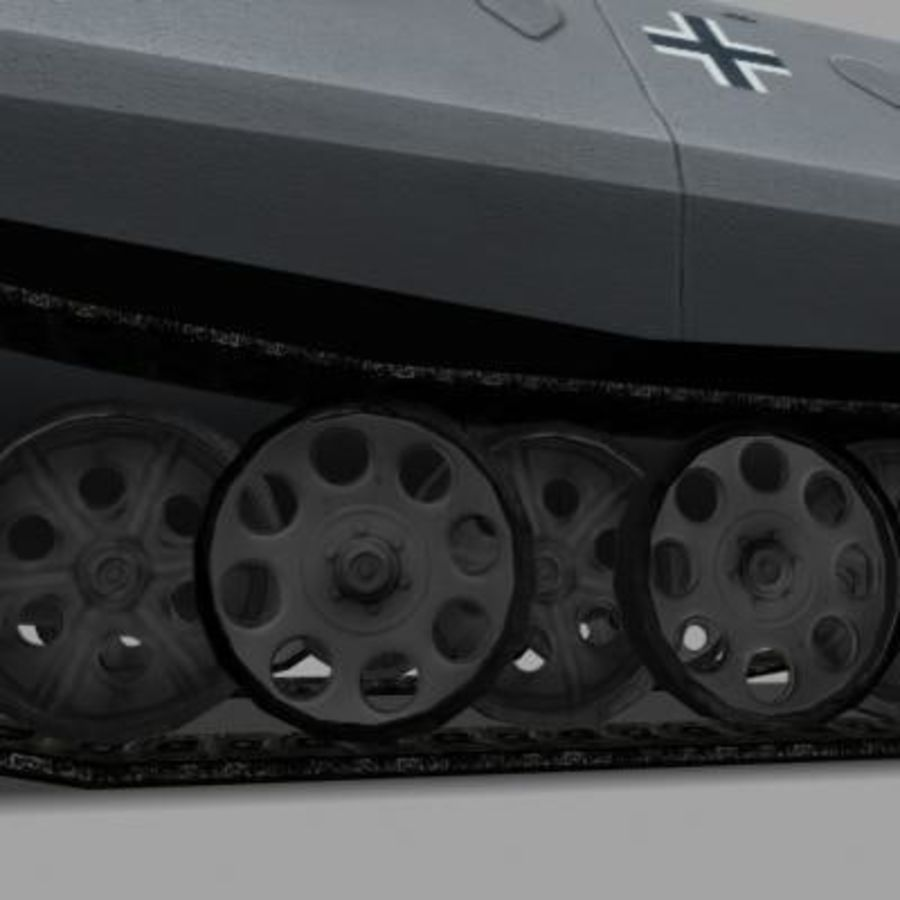 sdkfz250.zip royalty-free 3d model - Preview no. 10