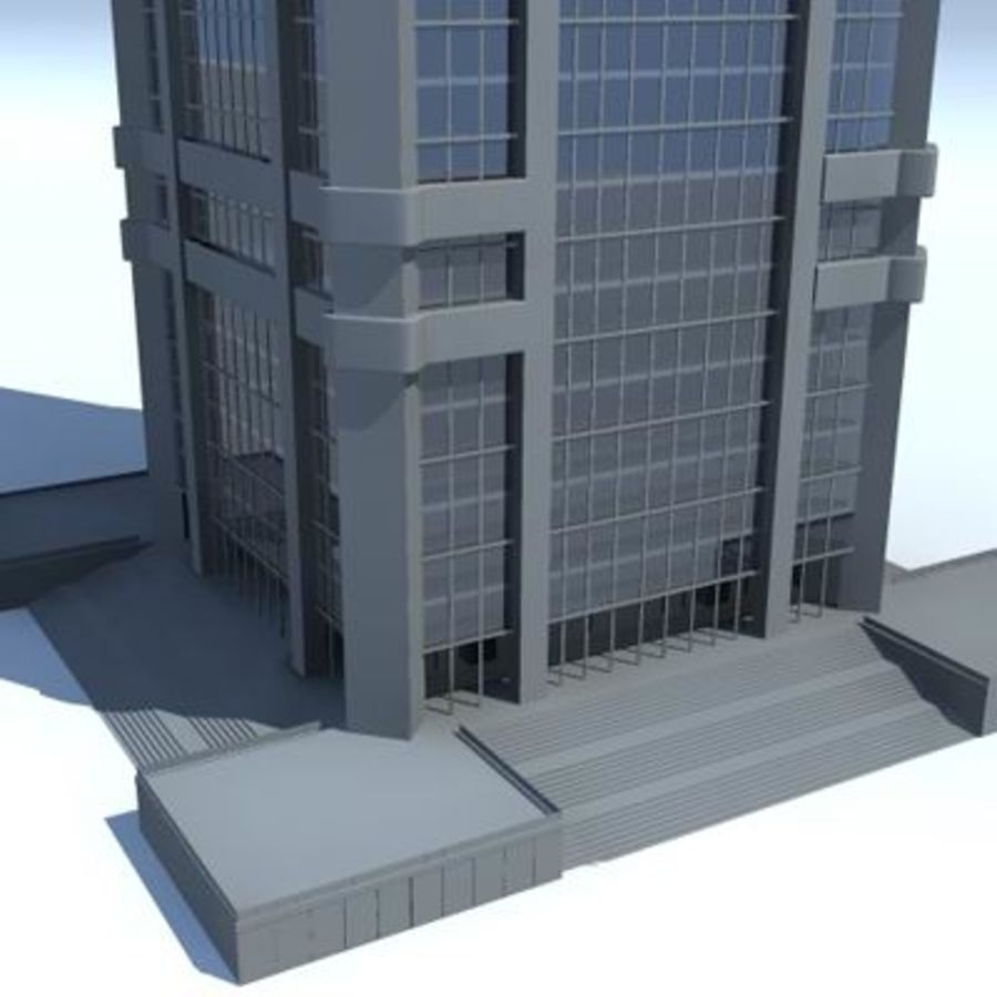 City Buildings royalty-free 3d model - Preview no. 4