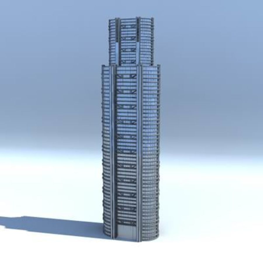 City Buildings royalty-free 3d model - Preview no. 5