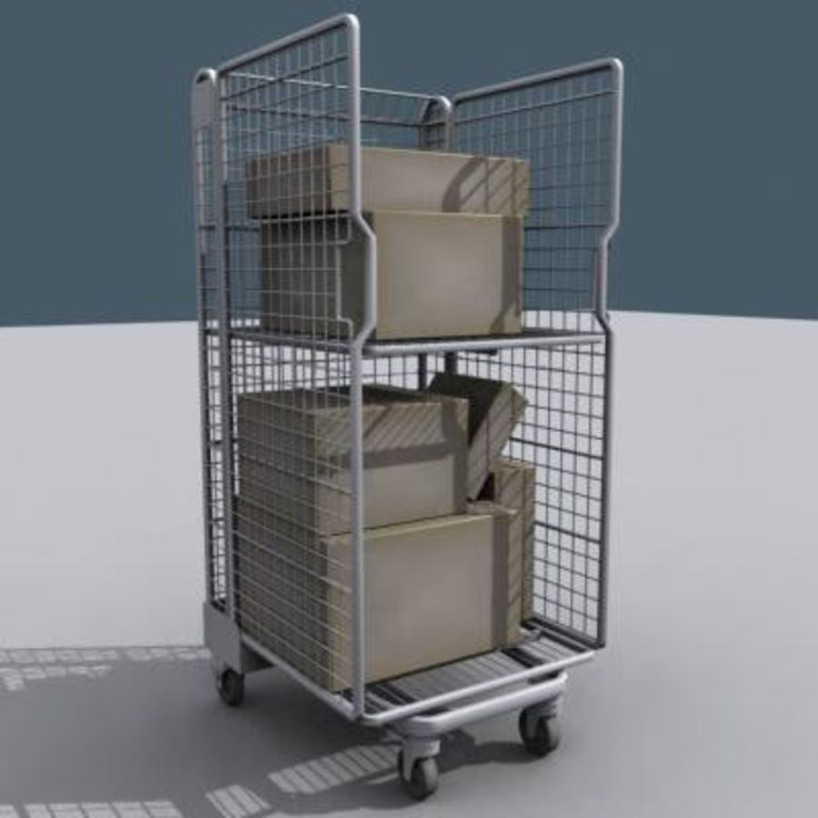 Rollcage royalty-free 3d model - Preview no. 1