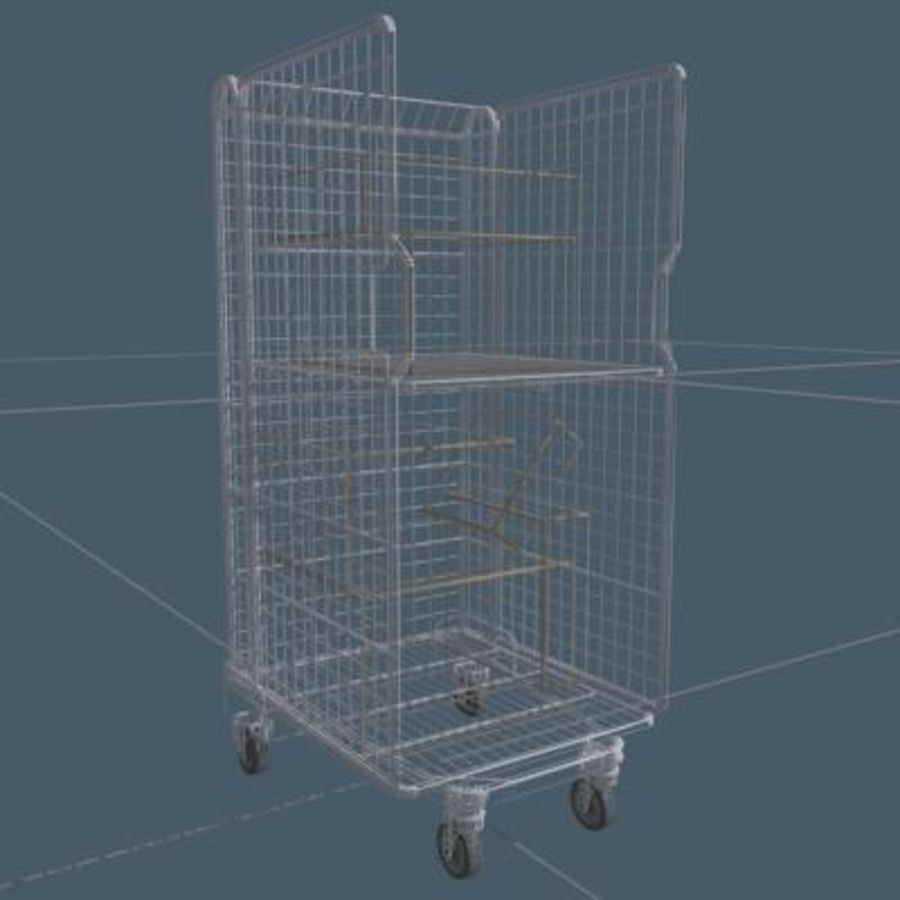 Rollcage royalty-free 3d model - Preview no. 6