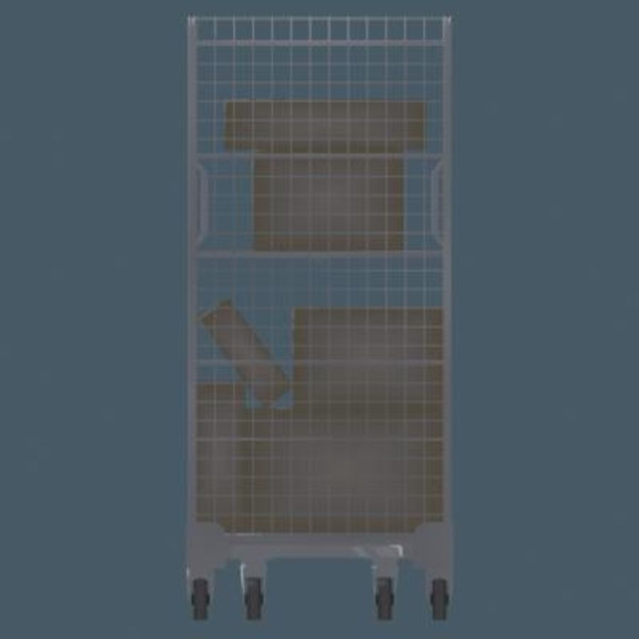 Rollcage royalty-free 3d model - Preview no. 2