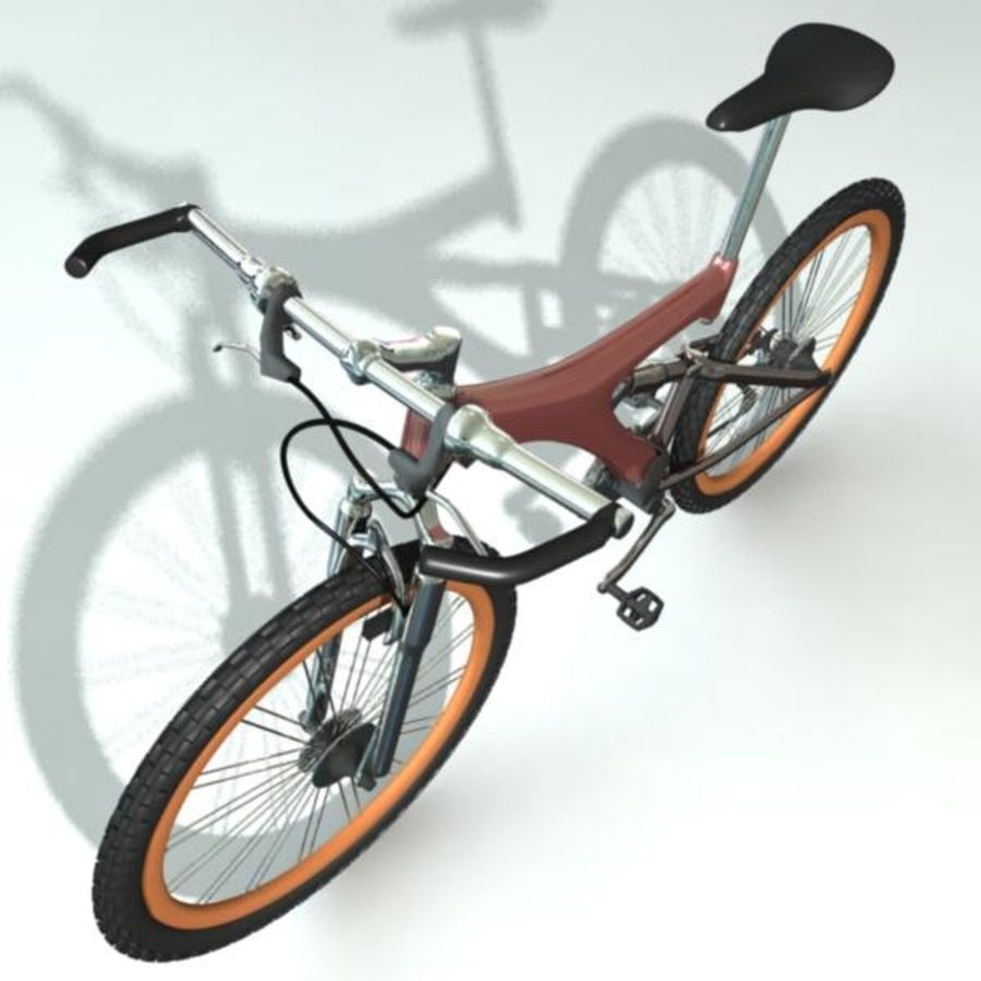 Mountainbike royalty-free 3d model - Preview no. 5