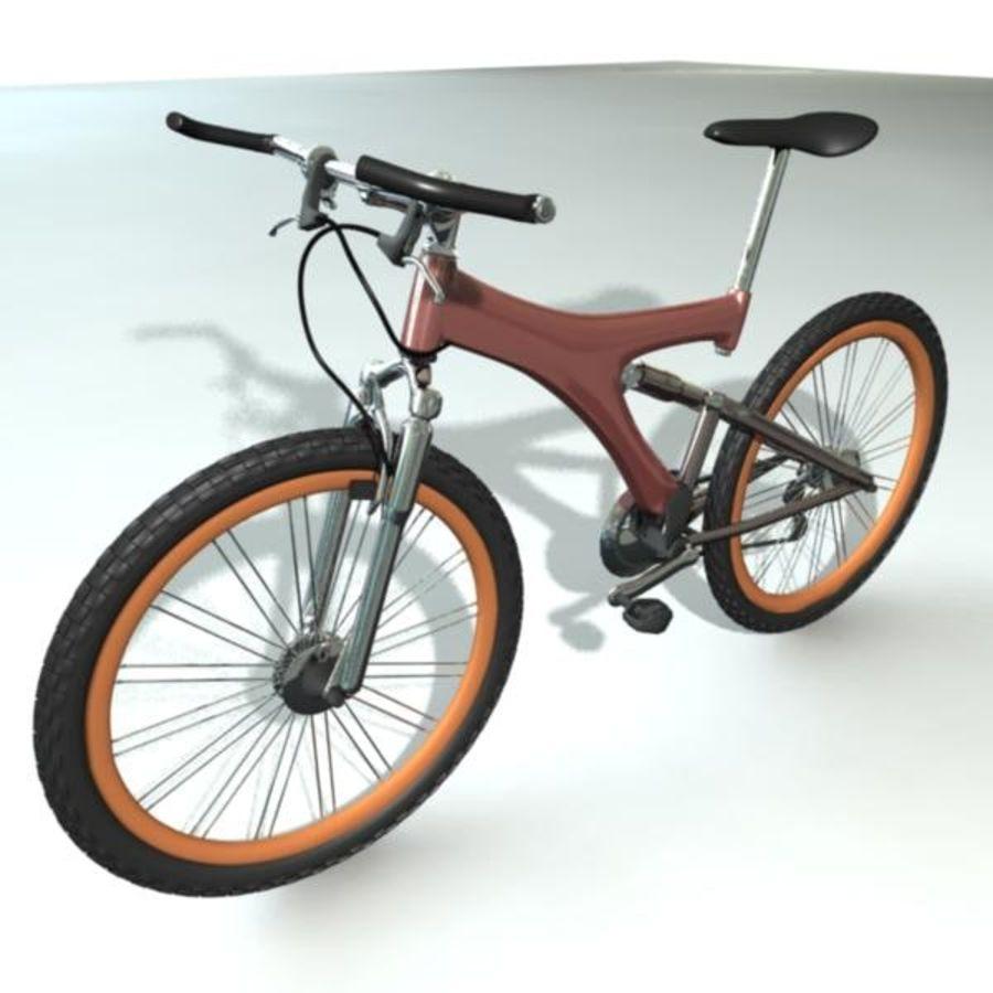 Mountainbike royalty-free 3d model - Preview no. 1