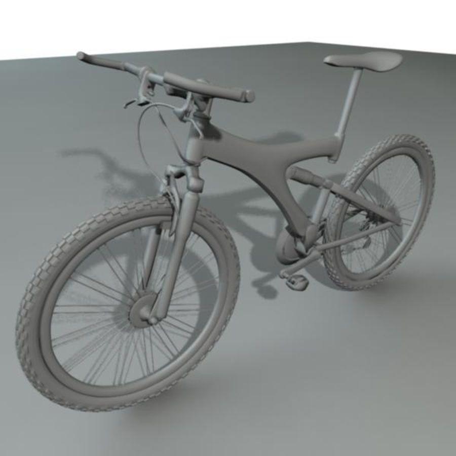 Mountainbike royalty-free 3d model - Preview no. 2
