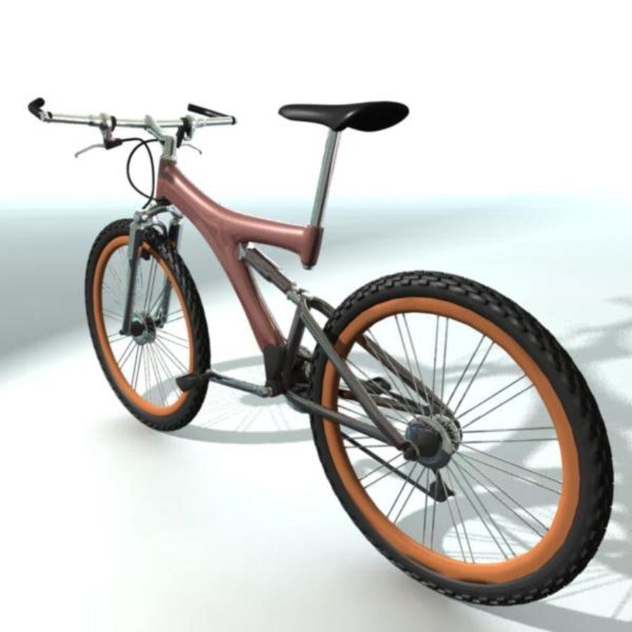 Mountainbike royalty-free 3d model - Preview no. 4