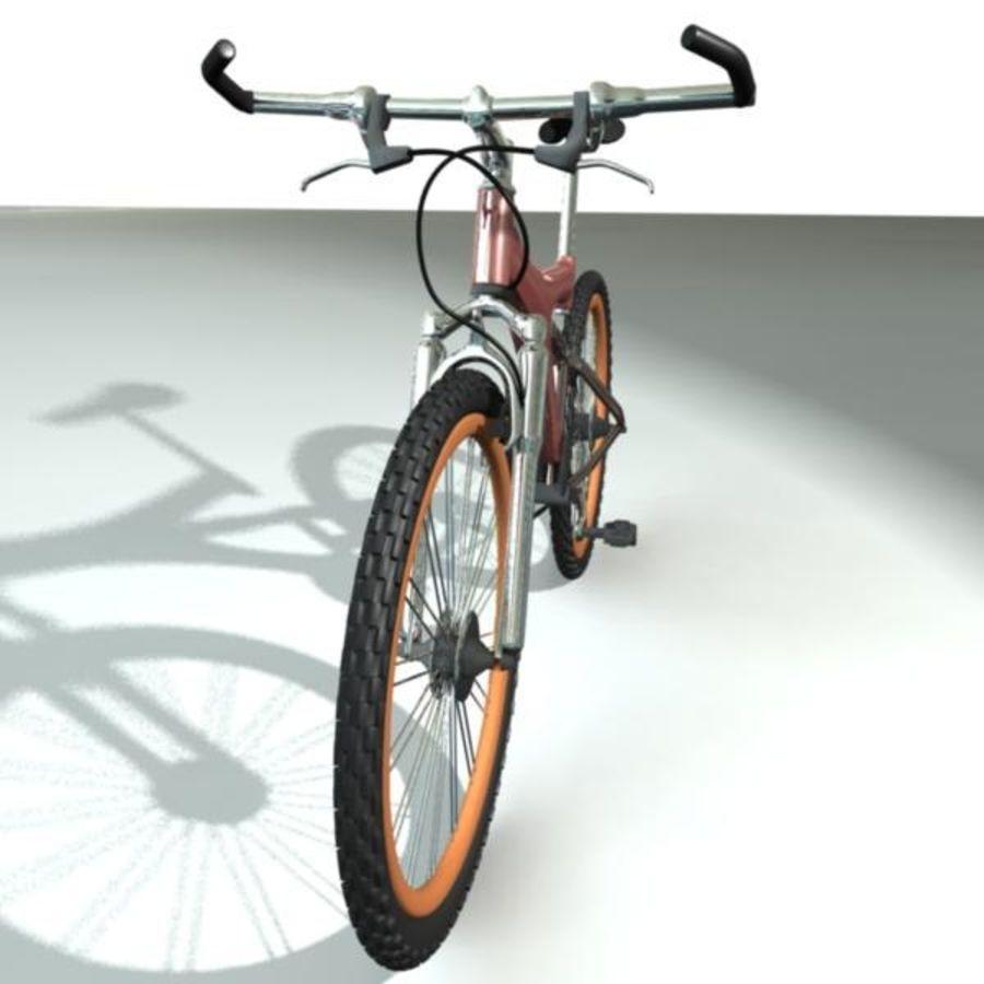 Mountainbike royalty-free 3d model - Preview no. 3