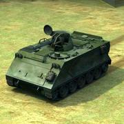 M163 Vulcan AAA 3d model