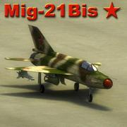 Mig21Bis Fishbed Max 3d model