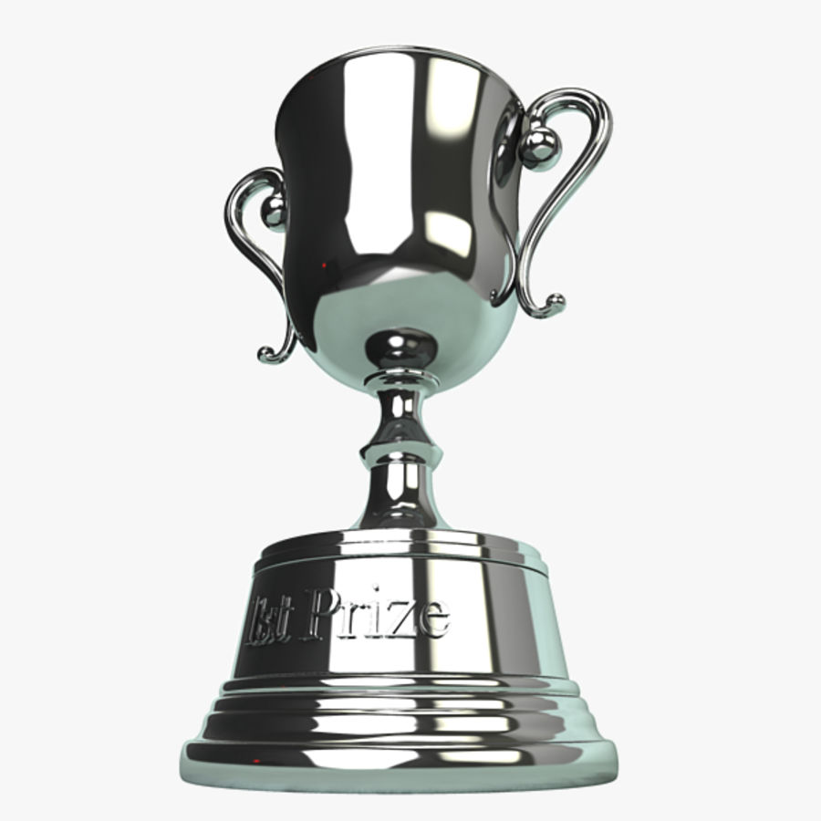 Trophy B royalty-free 3d model - Preview no. 3