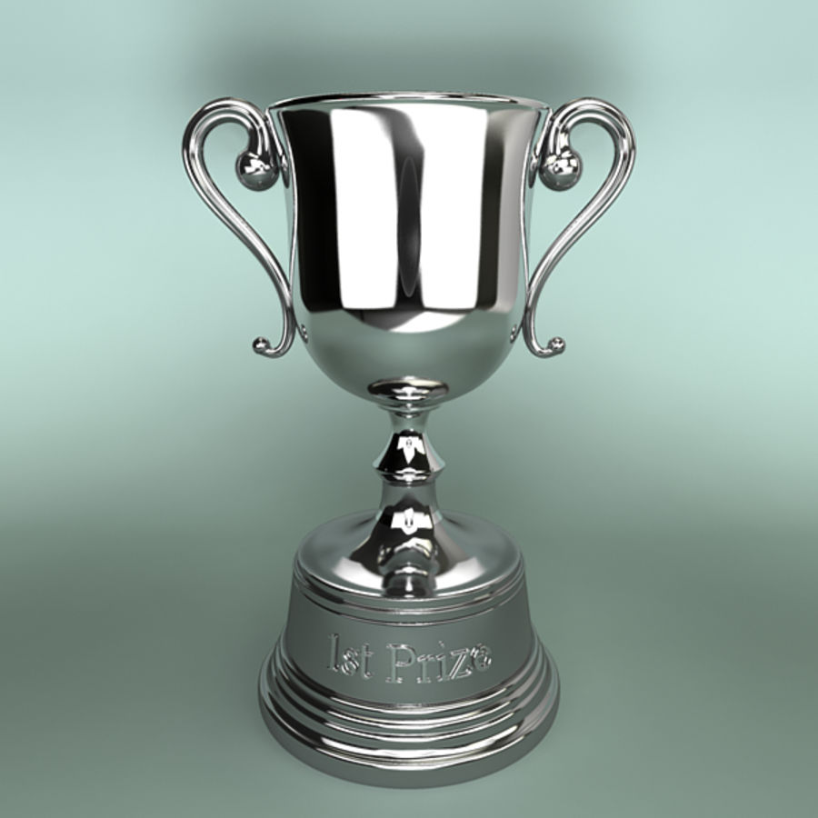 Trophy B royalty-free 3d model - Preview no. 2