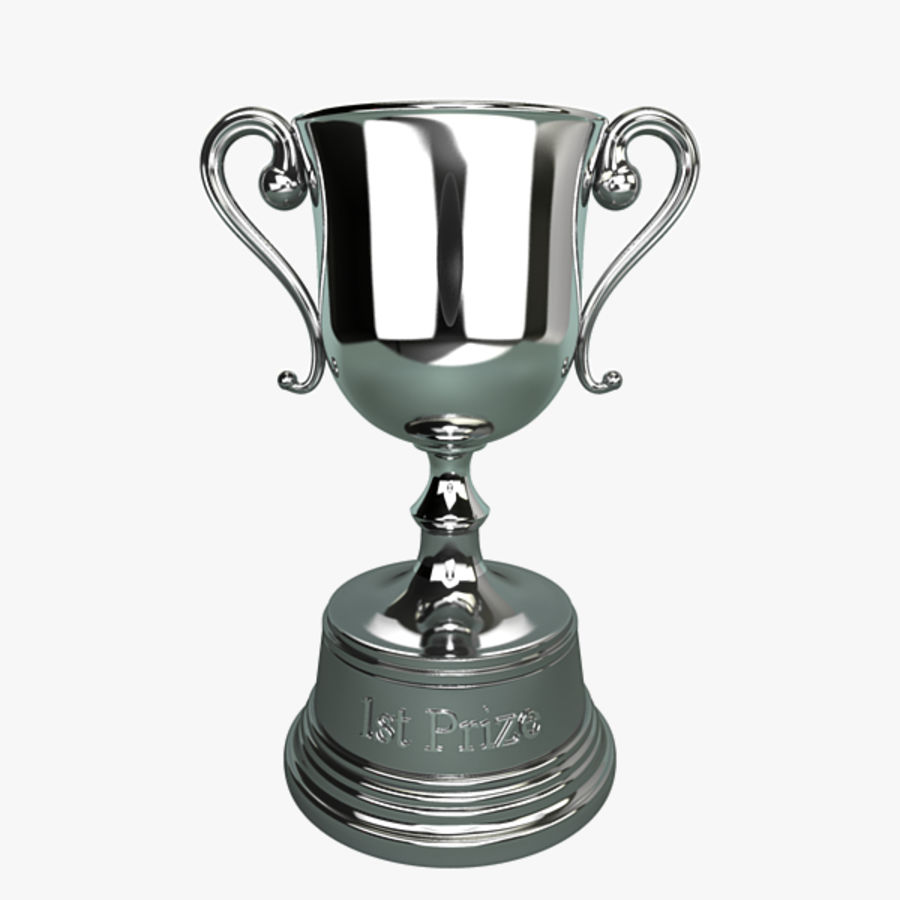 Trophy B royalty-free 3d model - Preview no. 1