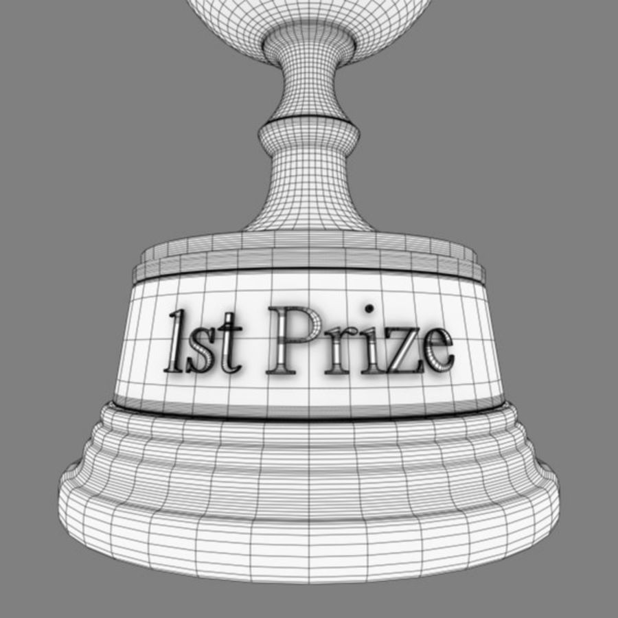 Trophy B royalty-free 3d model - Preview no. 11