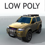 Mitsubishi Challenger OFF Road Tuning 3d model