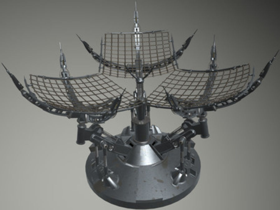 Antena royalty-free 3d model - Preview no. 1