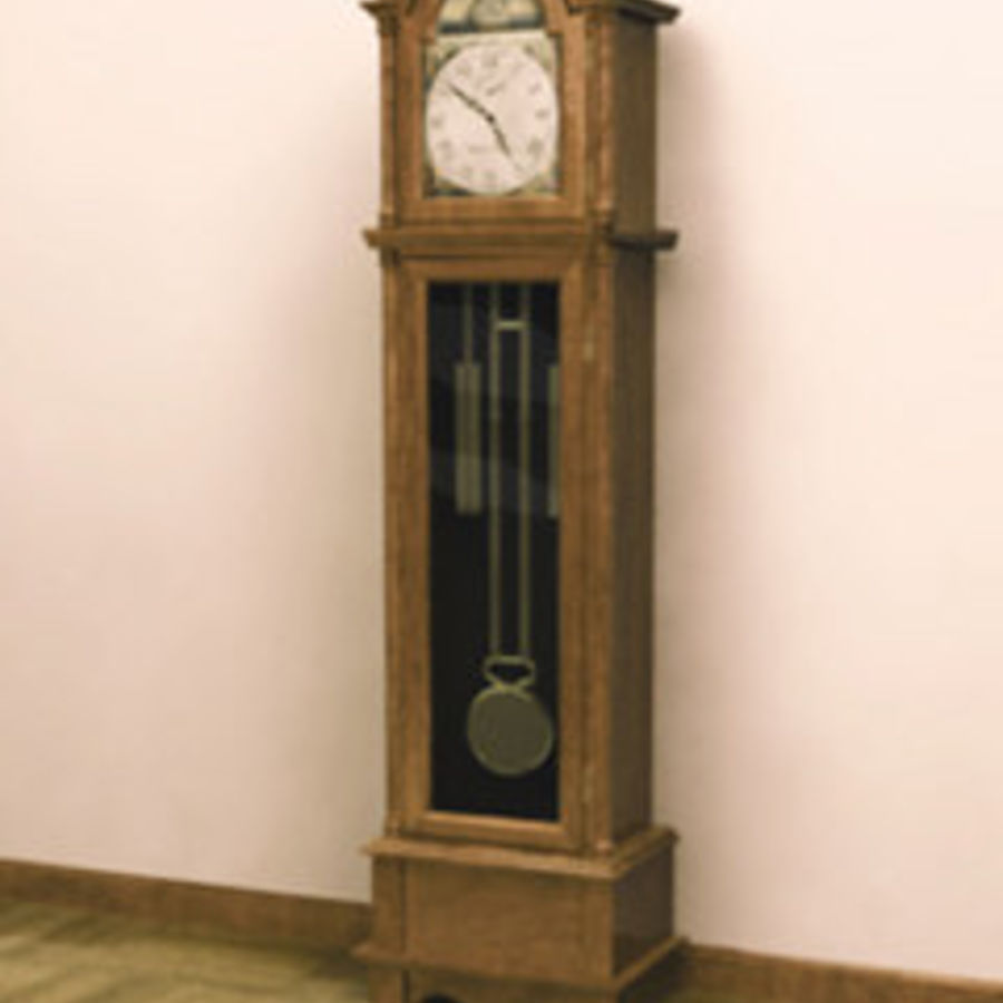 Grandfather Clock royalty-free 3d model - Preview no. 1