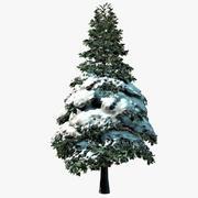 Arbre de neige 1 3d model