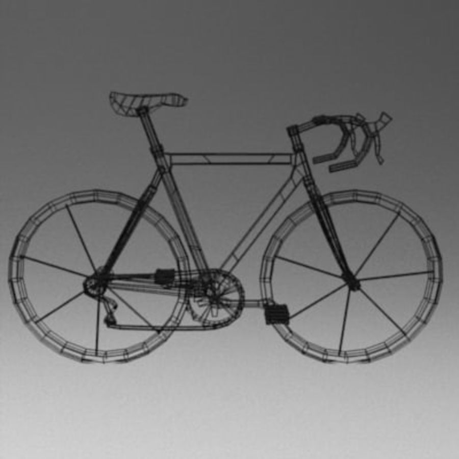 bike royalty-free 3d model - Preview no. 3