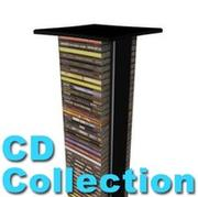 Compact Disk Tower 3d model