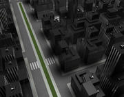 街の風景 3d model