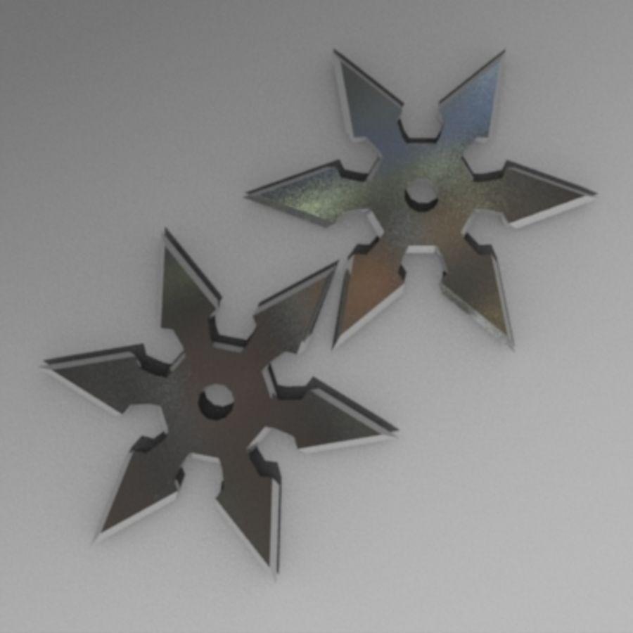 Shuriken 3d Model 12 Obj Lwo Dxf Blend 3ds Free3d
