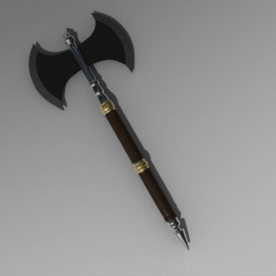 axe2.obj royalty-free 3d model - Preview no. 2
