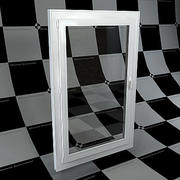 fönster 3d model