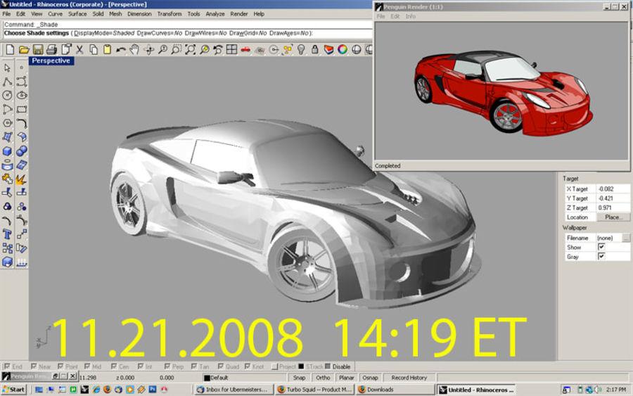 European Sports Car 3D Model $20 -  unknown - Free3D