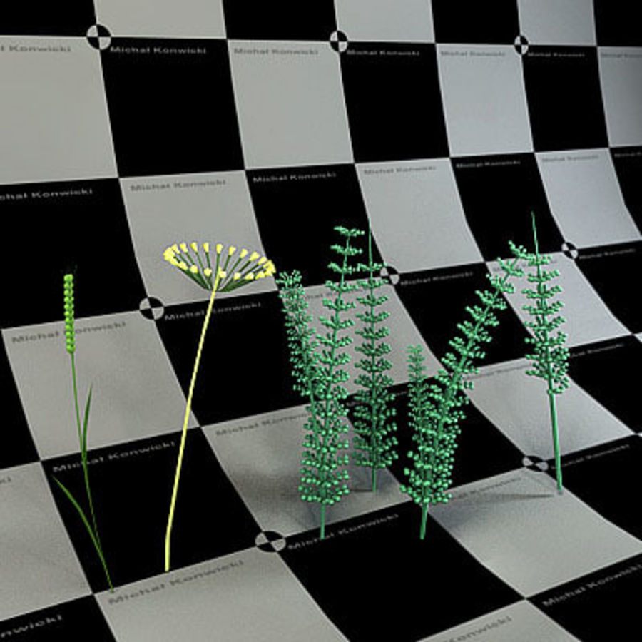 Plants royalty-free 3d model - Preview no. 1
