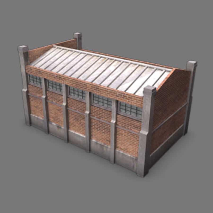 lager royalty-free 3d model - Preview no. 3