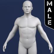 Мужская модель 3d model
