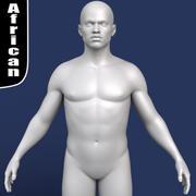 Afrikaans mannelijk 3d model 3d model