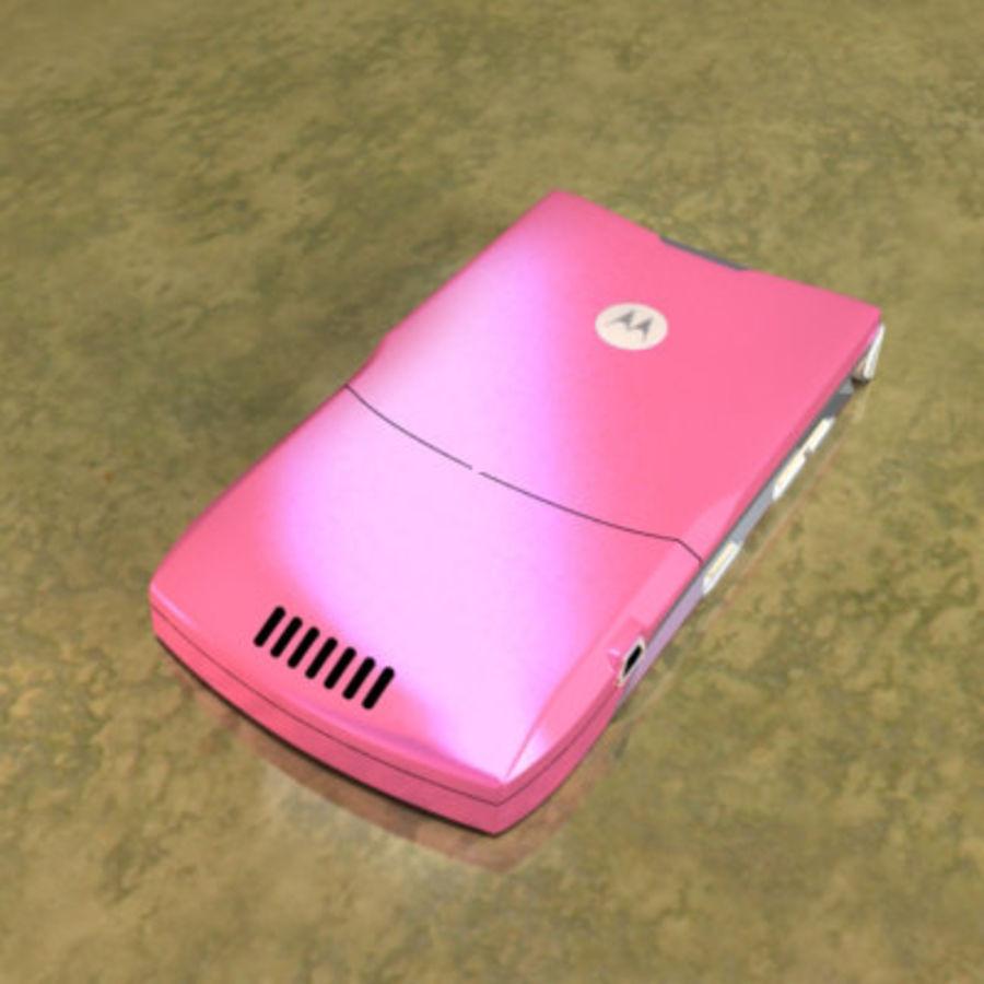 Electronics-Phone-MotoRAZR-V3i royalty-free 3d model - Preview no. 4
