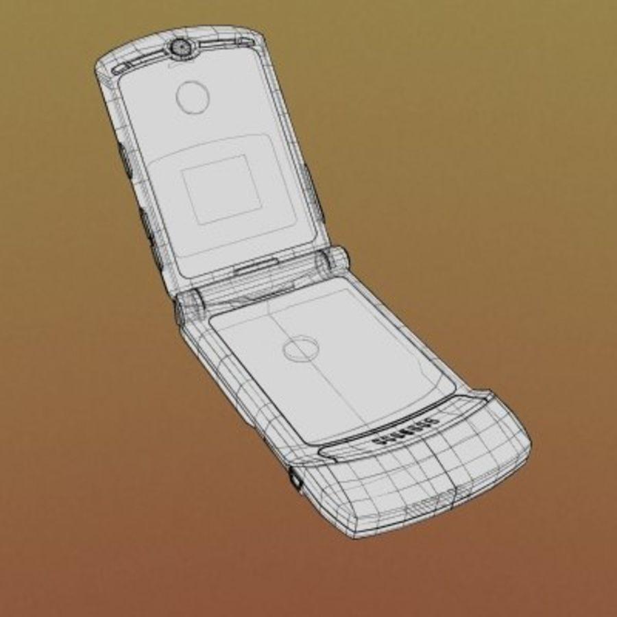 Electronics-Phone-MotoRAZR-V3i royalty-free 3d model - Preview no. 2