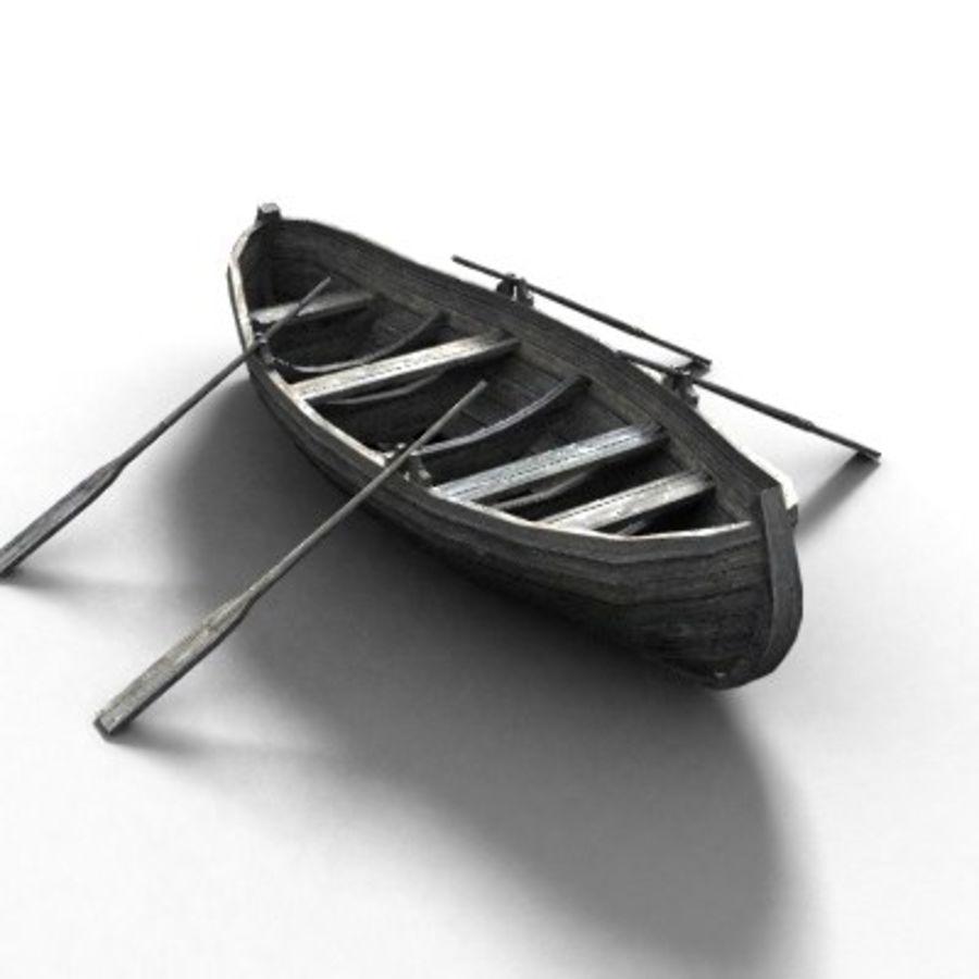 로우 배 로우 폴 리 royalty-free 3d model - Preview no. 2
