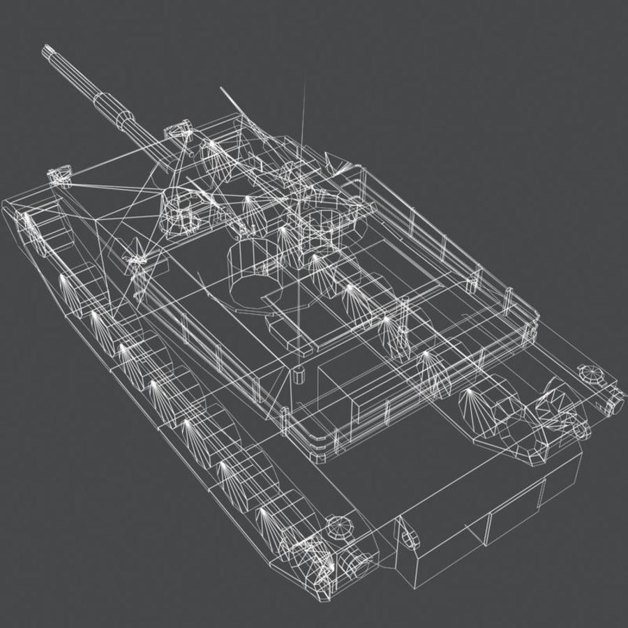 M1 Abrams royalty-free 3d model - Preview no. 21