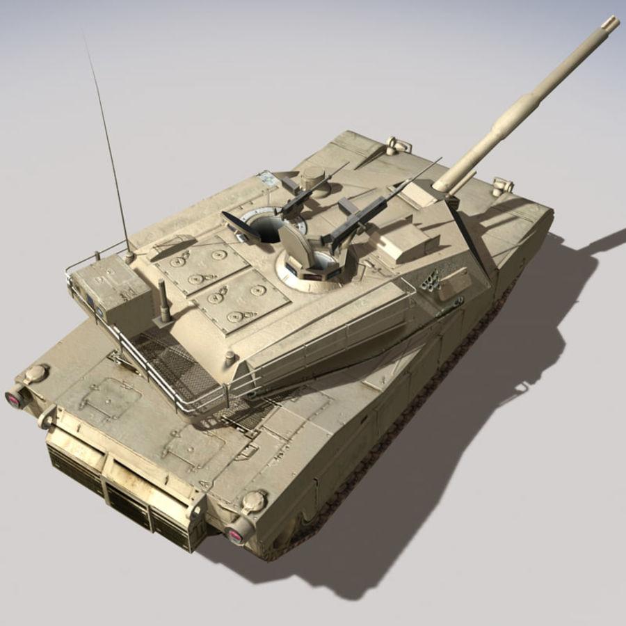 M1 Abrams royalty-free 3d model - Preview no. 13