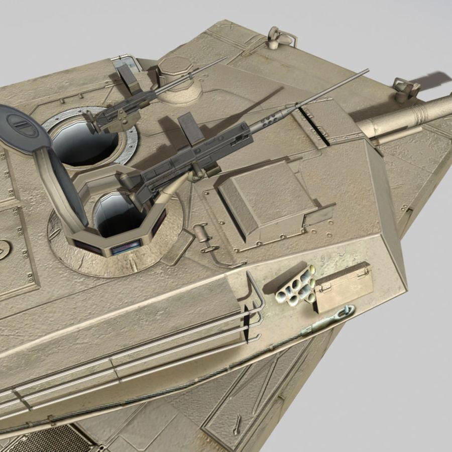 M1 Abrams royalty-free 3d model - Preview no. 16