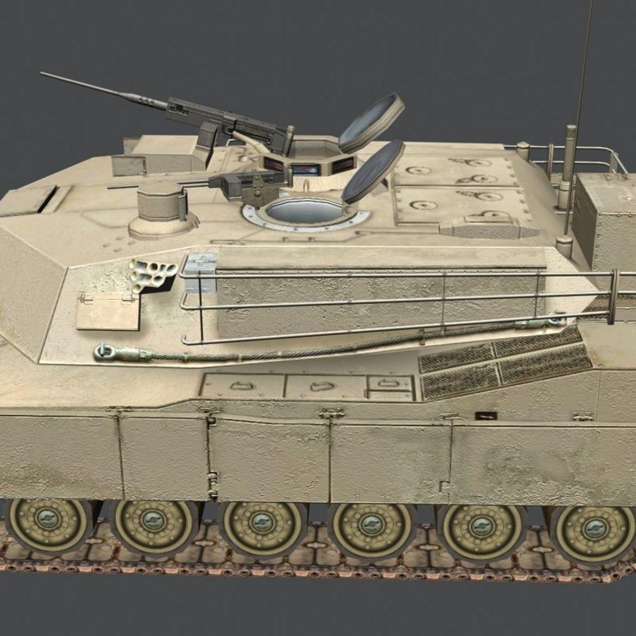 M1 Abrams royalty-free 3d model - Preview no. 19