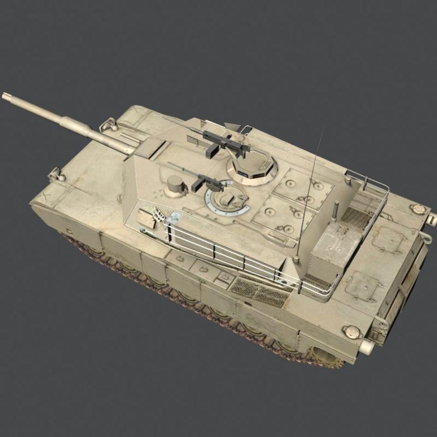 M1 Abrams royalty-free 3d model - Preview no. 18