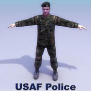Polizia della polizia USAF 3d model