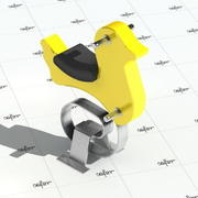 Brinquedo para parque infantil - PATO 3d model