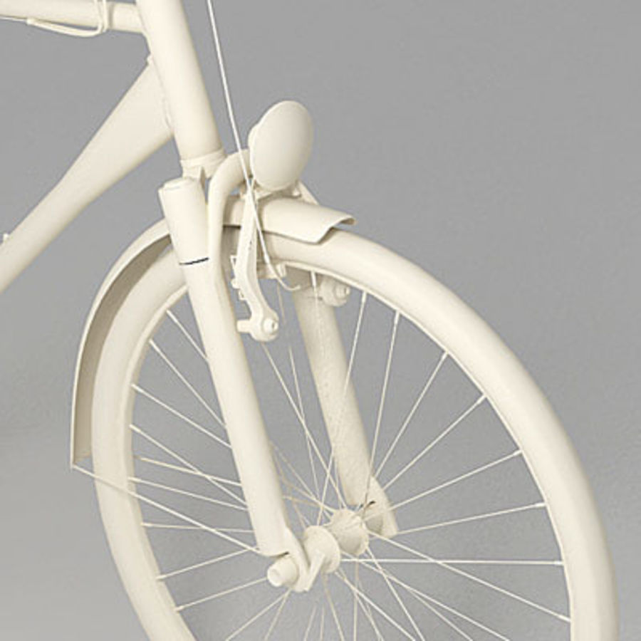 Toerfiets 3ds royalty-free 3d model - Preview no. 4