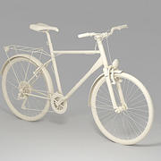 Touring bicycle 3ds 3d model