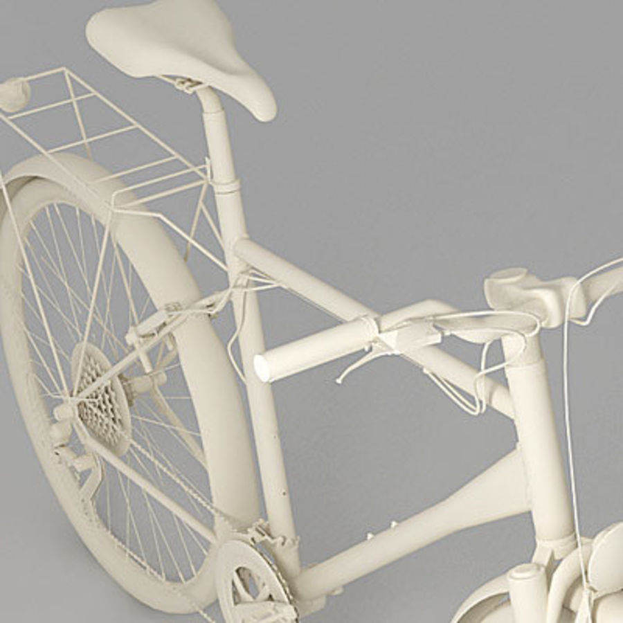 Toerfiets 3ds royalty-free 3d model - Preview no. 5