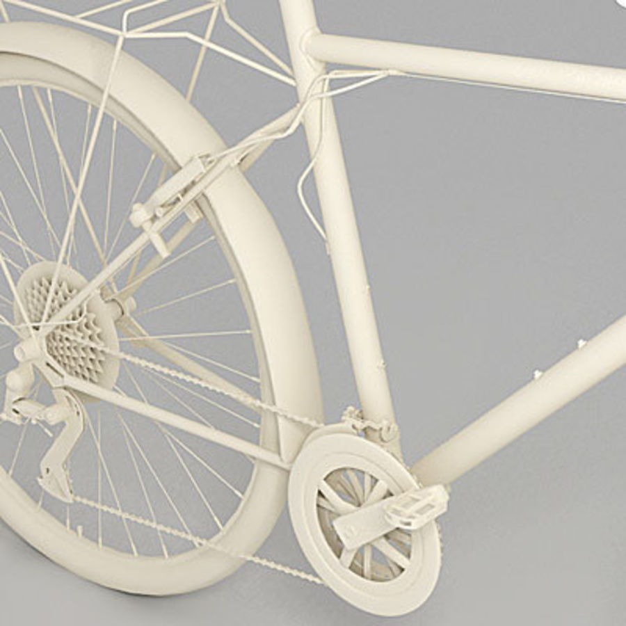 Toerfiets 3ds royalty-free 3d model - Preview no. 3