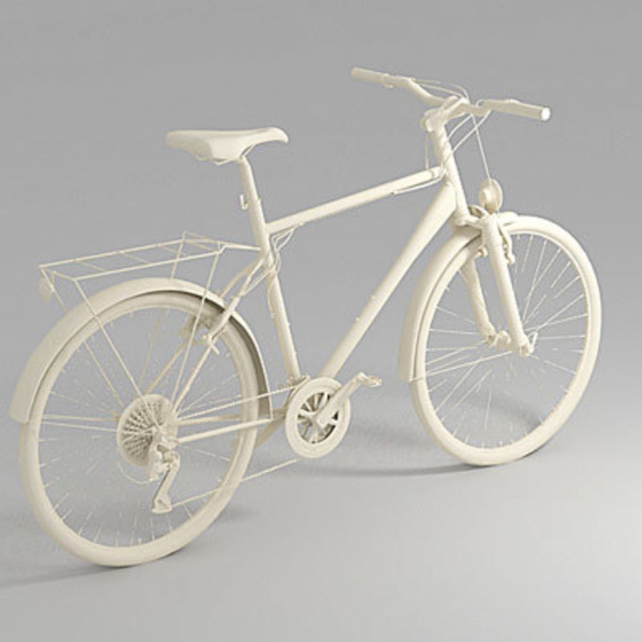 Toerfiets 3ds royalty-free 3d model - Preview no. 2